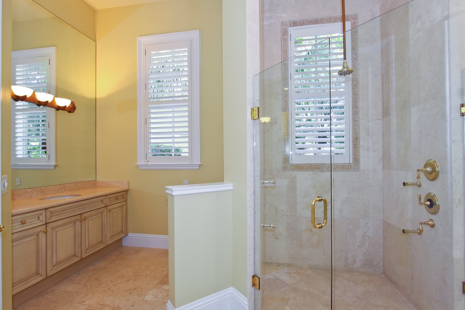 Real Estate Photography - 809 Harbour Isles Court, North Palm Beach, FL, 33410 - His bathroom