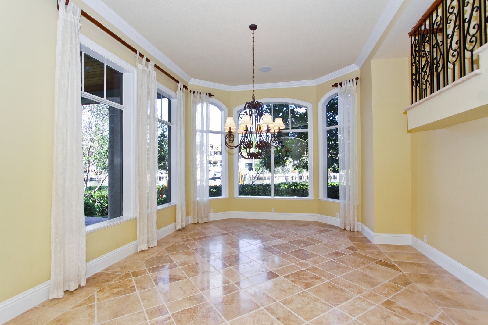 Real Estate Photography - 809 Harbour Isles Court, North Palm Beach, FL, 33410 - Dining Room