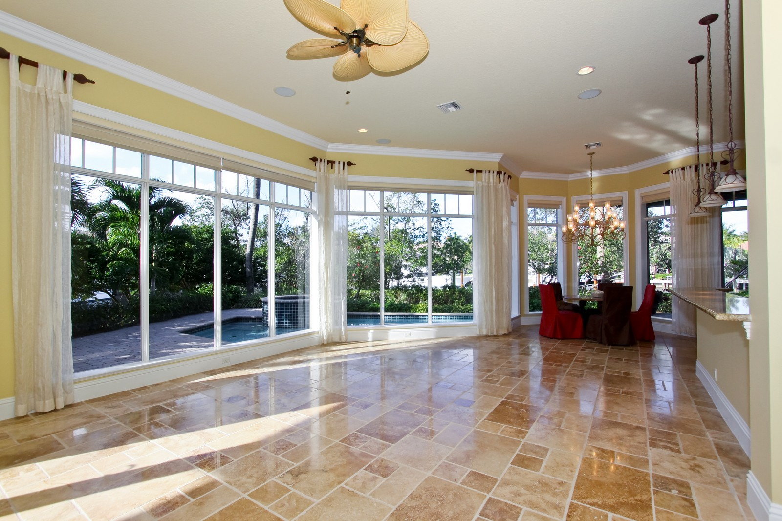 Real Estate Photography - 809 Harbour Isles Court, North Palm Beach, FL, 33410 - Family Room