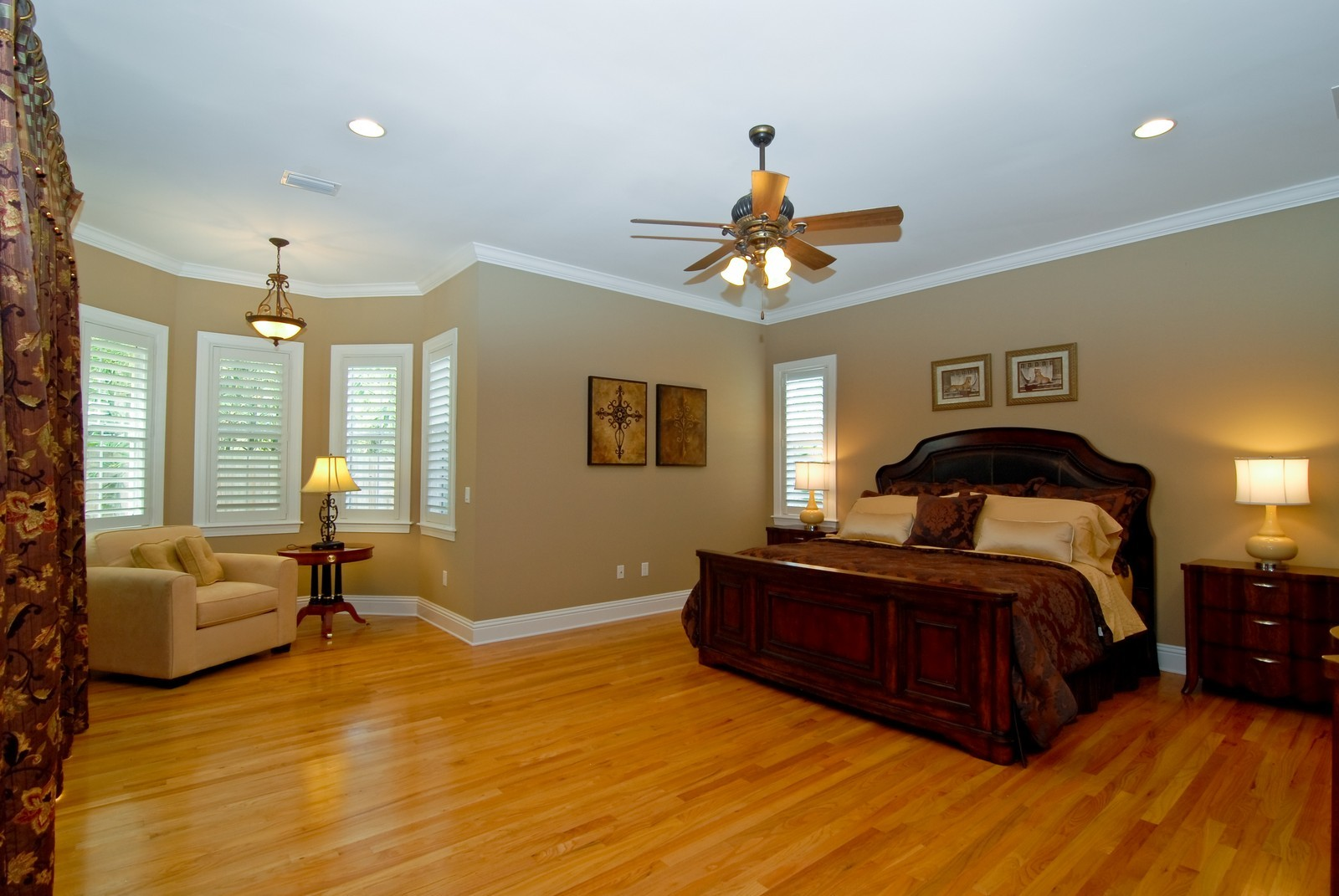 Real Estate Photography - 3107 Fountain Blvd, Tampa, FL, 33609 - Master Bedroom