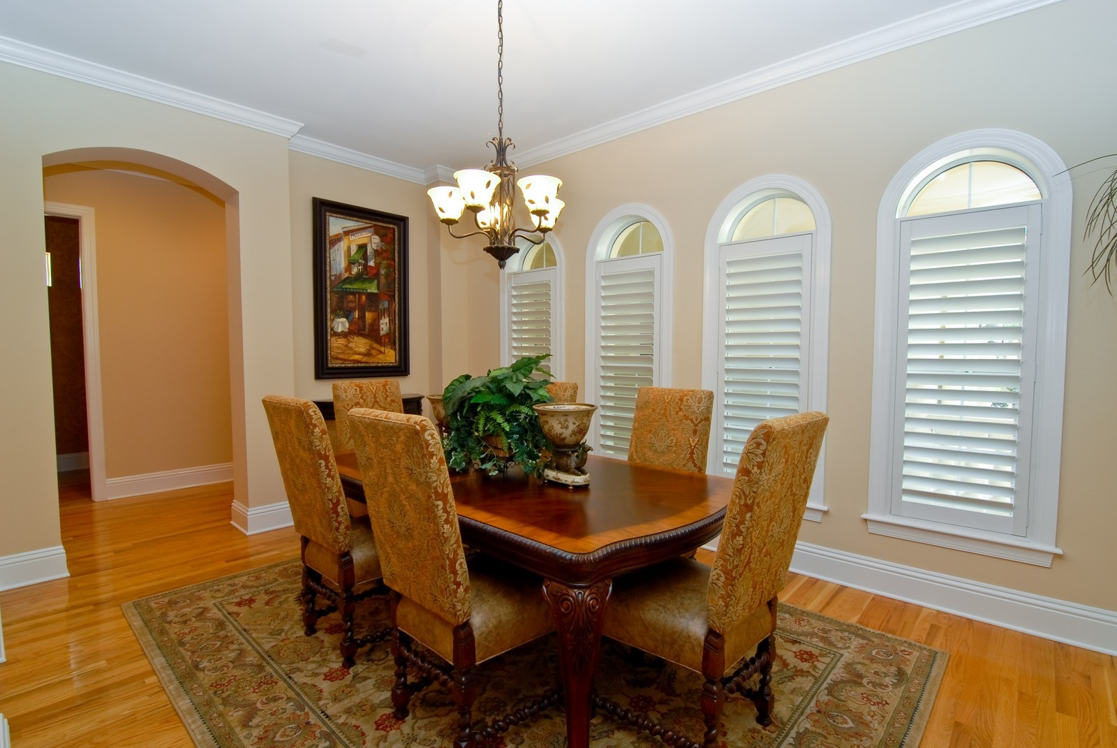 Real Estate Photography - 3107 Fountain Blvd, Tampa, FL, 33609 - Dining Room