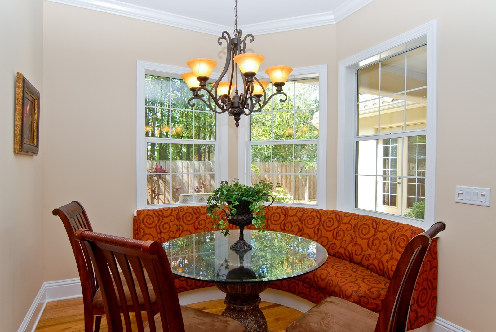 Real Estate Photography - 3107 Fountain Blvd, Tampa, FL, 33609 - Breakfast Nook