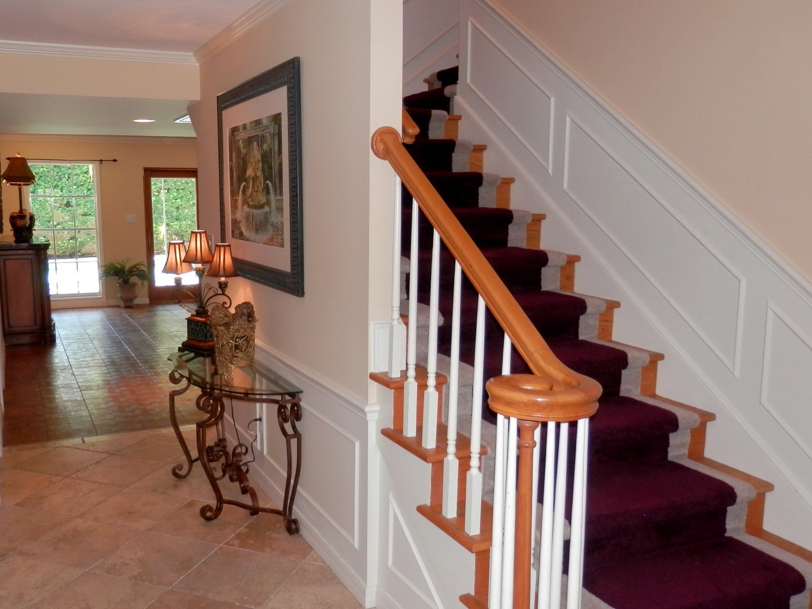 Real Estate Photography - 4920 Lyford Cay Road, Tampa, FL, 33629 - Staircase