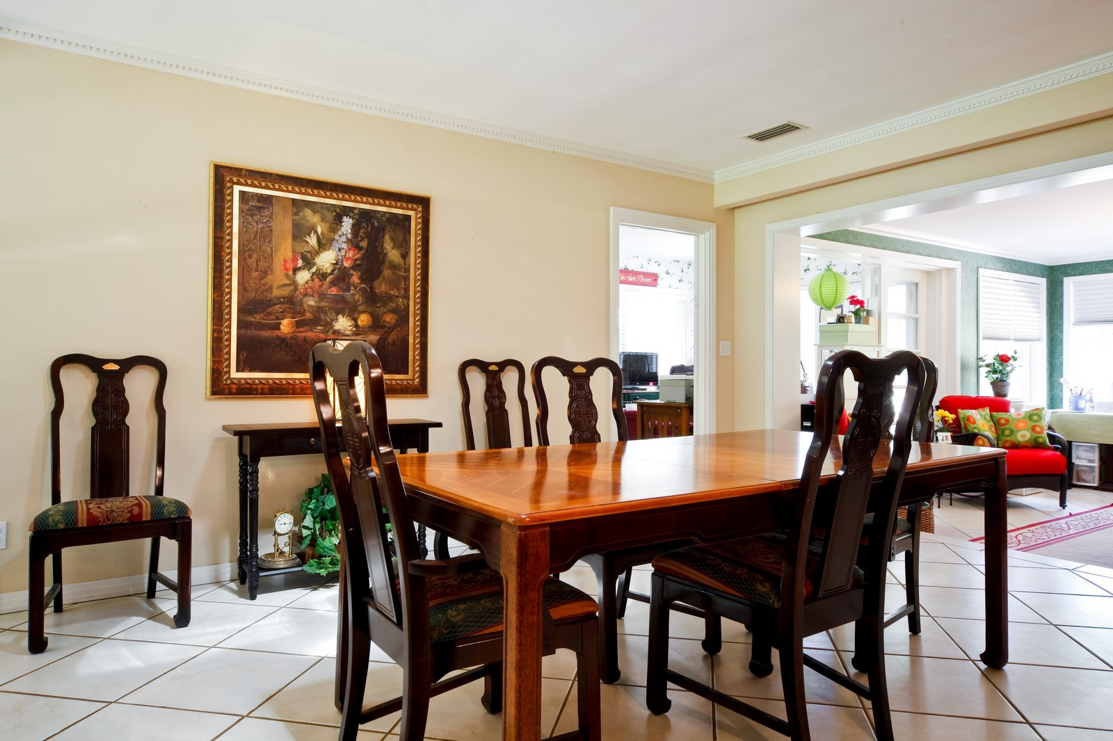 Real Estate Photography - 2621 N Dundee St, Tampa, FL, 33629 - Dining Room