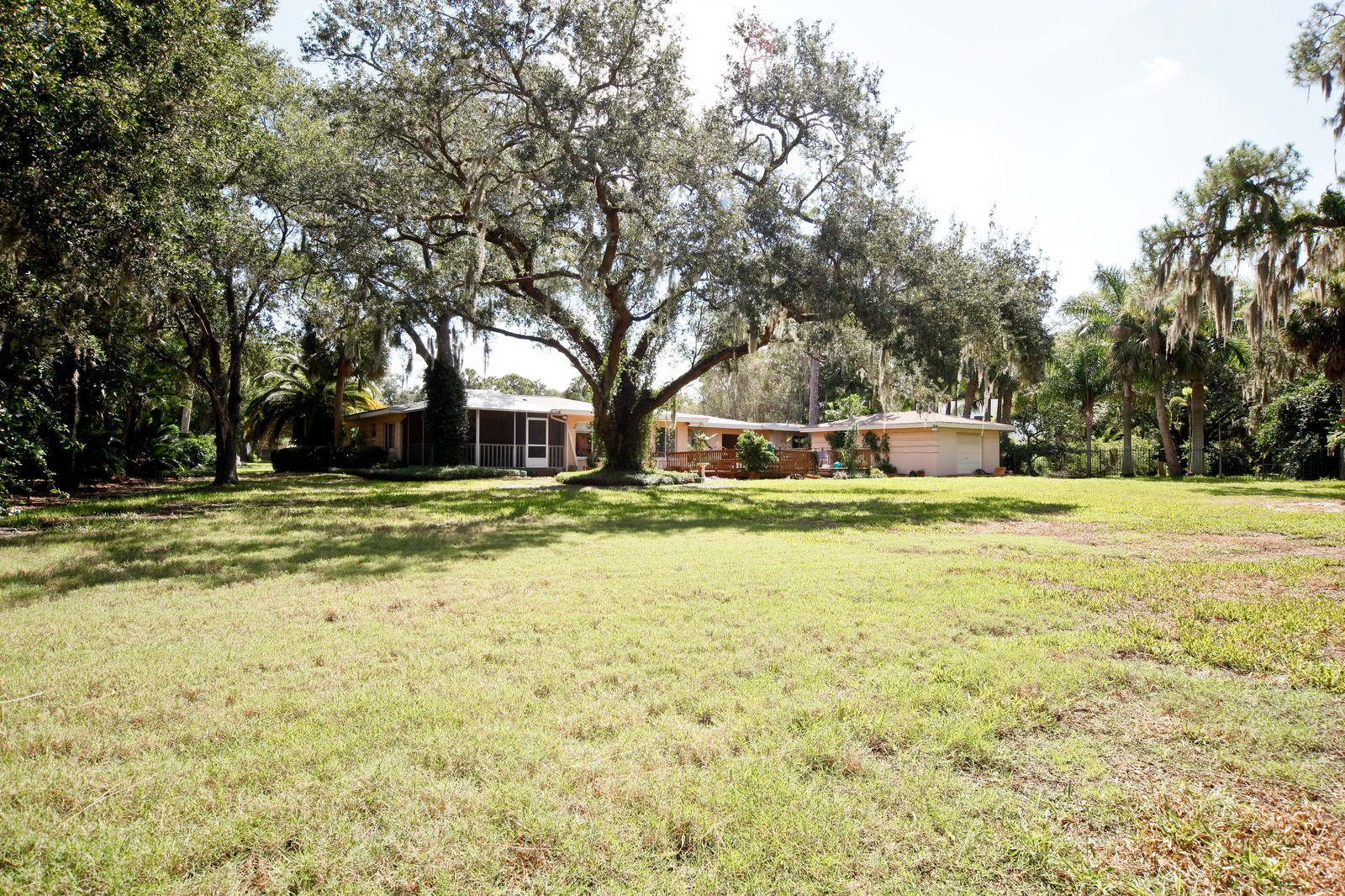 Real Estate Photography - 2621 N Dundee St, Tampa, FL, 33629 - Back Yard