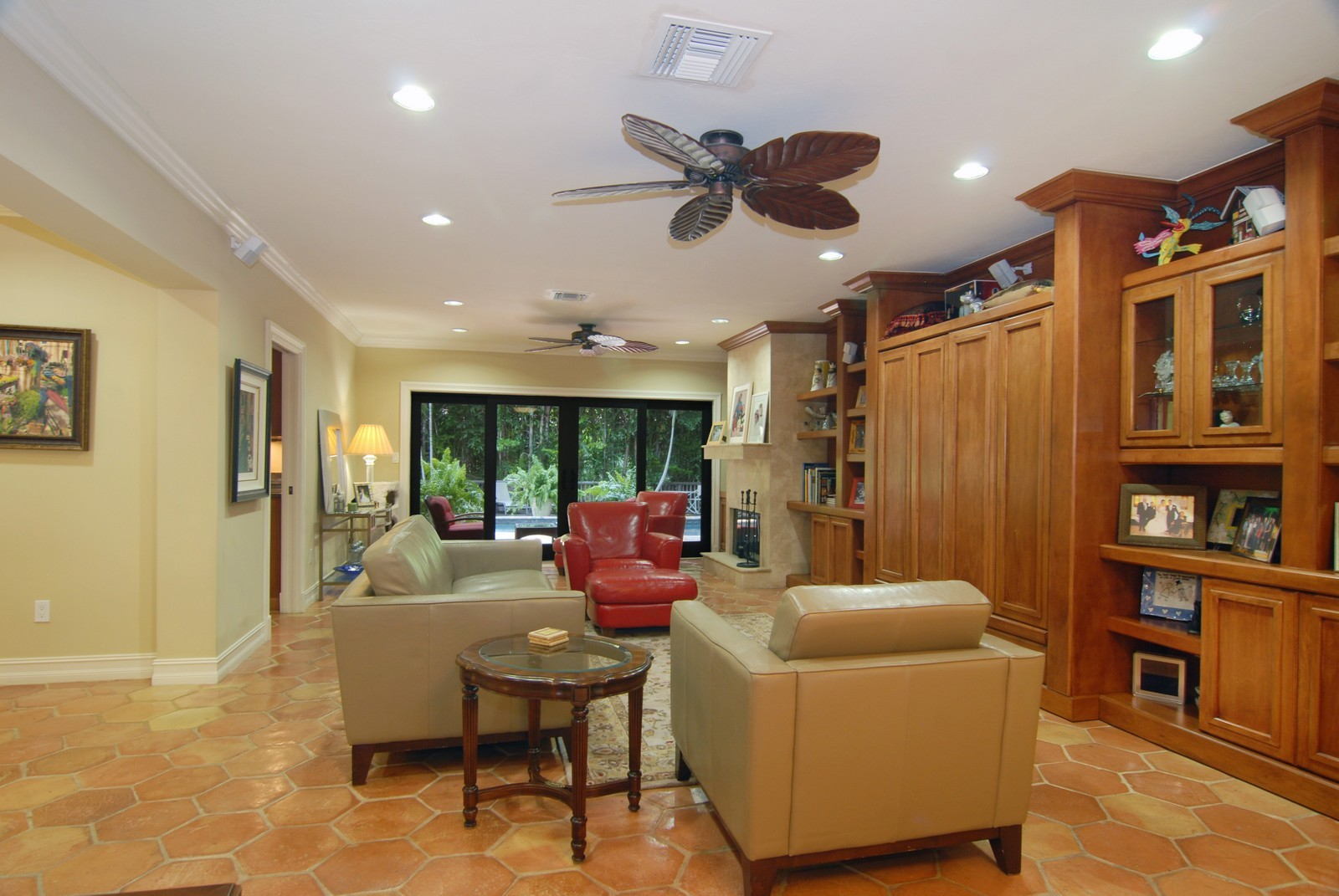 Real Estate Photography - 3403 Poinciana, Coconut Grove, FL, 33133 - Living Room