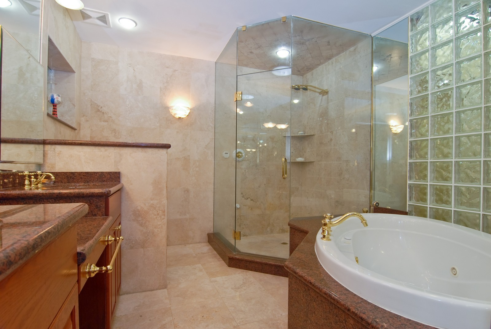Real Estate Photography - 3403 Poinciana, Coconut Grove, FL, 33133 - Master Bathroom