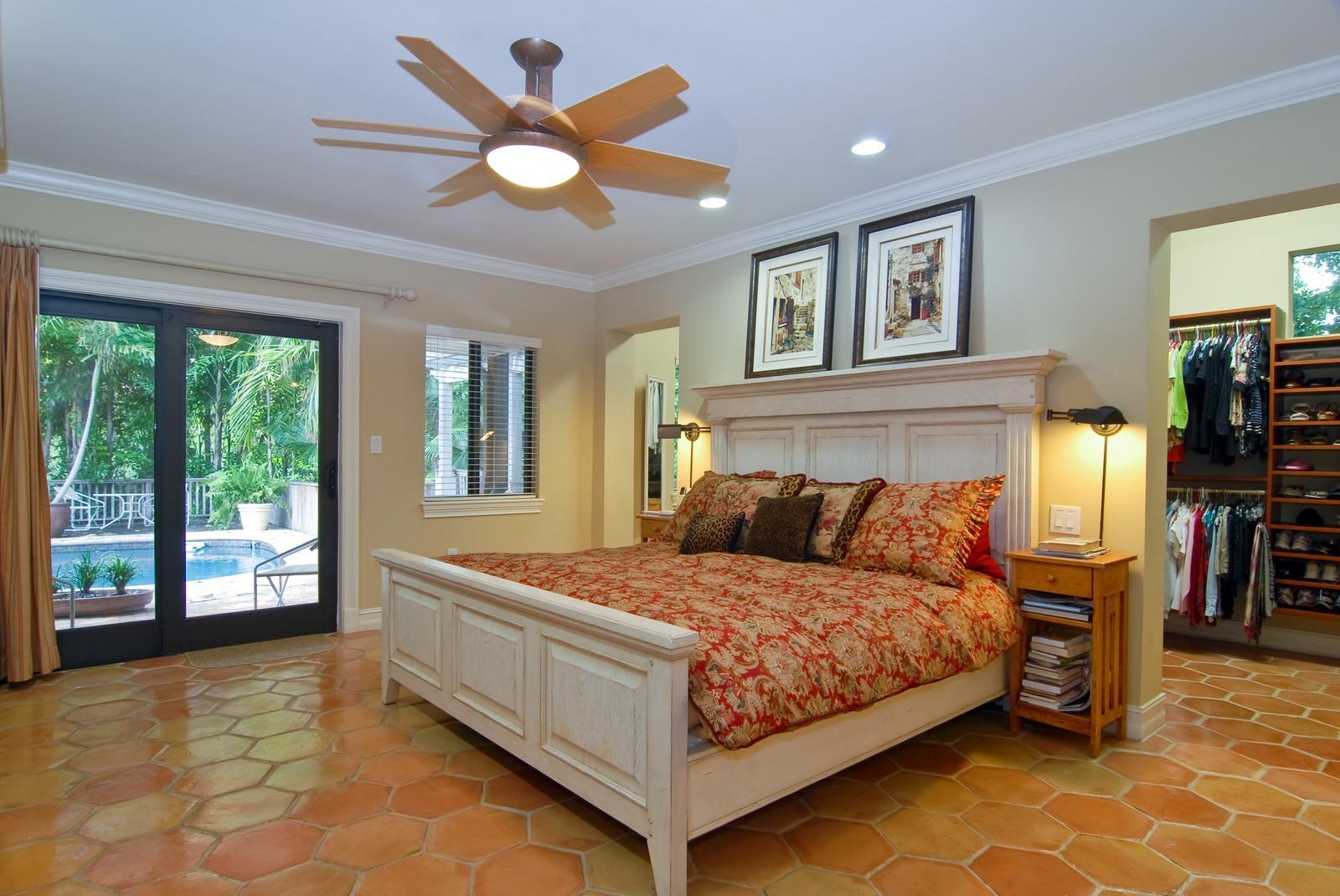 Real Estate Photography - 3403 Poinciana, Coconut Grove, FL, 33133 - Master Bedroom
