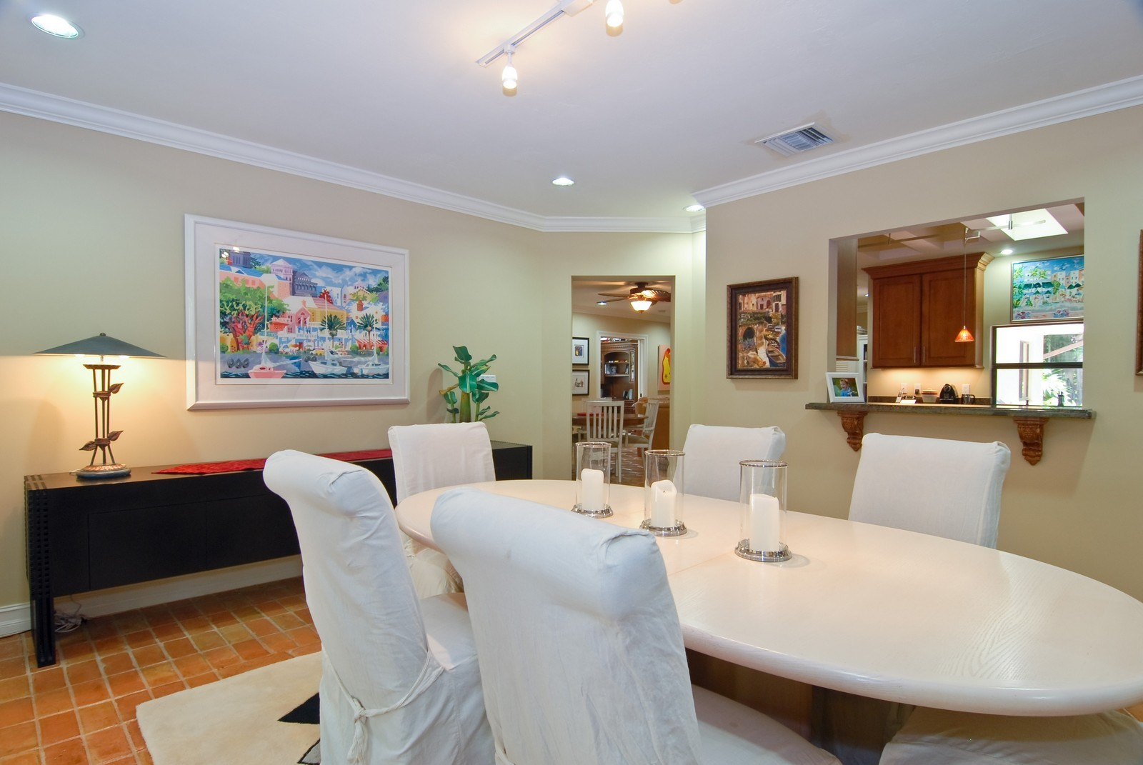 Real Estate Photography - 3403 Poinciana, Coconut Grove, FL, 33133 - Dining Room