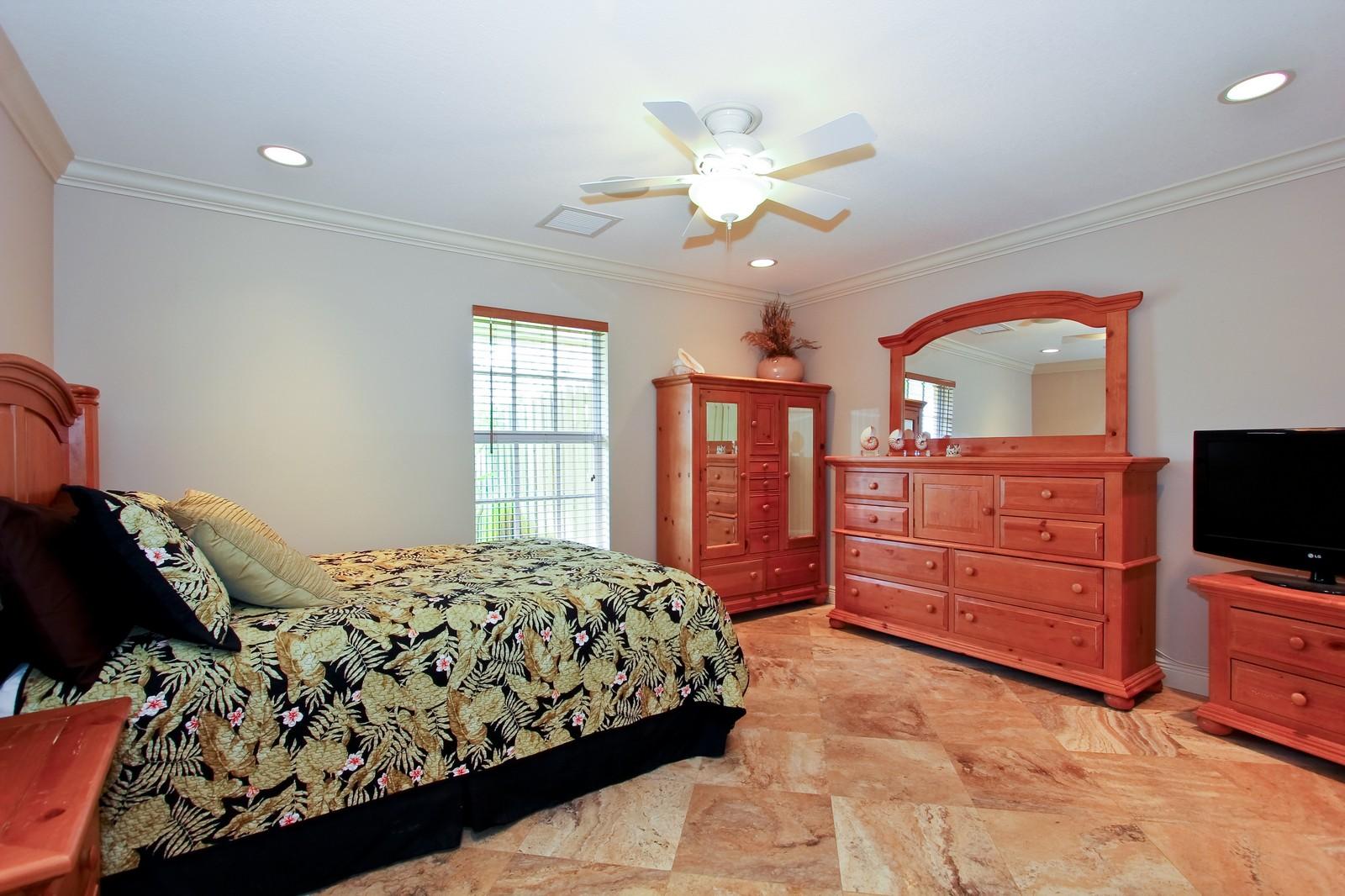 Real Estate Photography - 430 N. Lyra Circle, Juno Beach, FL, 33408 - 2nd Bedroom