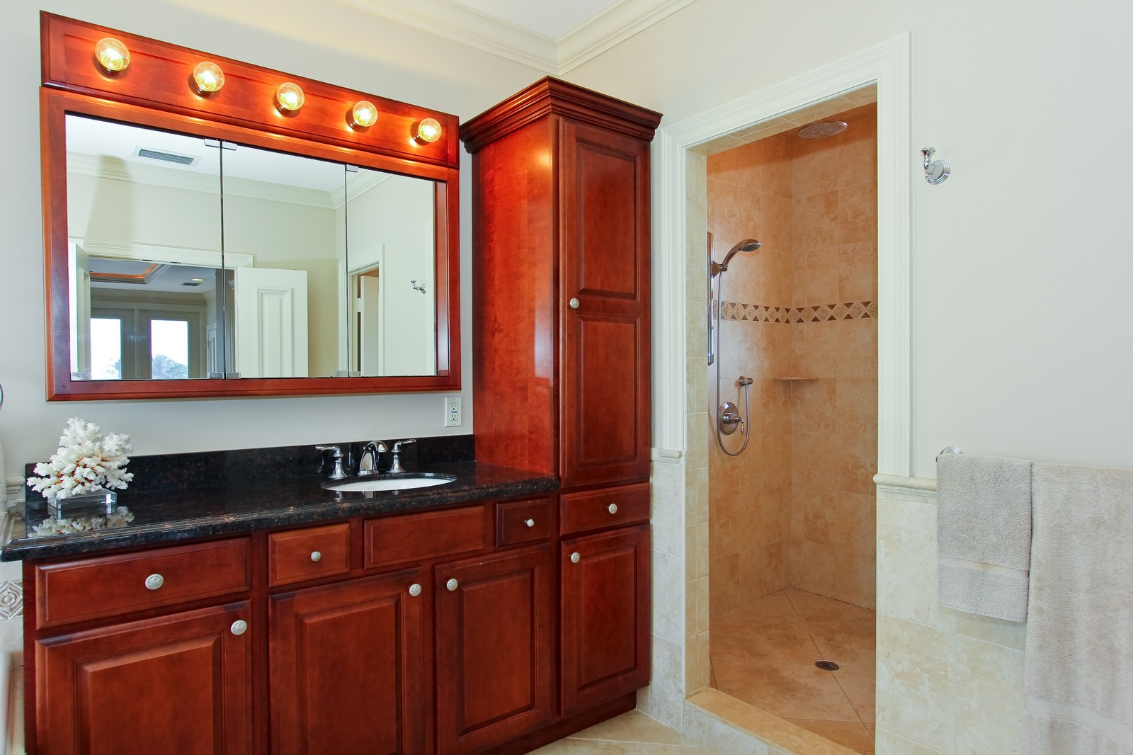 Real Estate Photography - 430 N. Lyra Circle, Juno Beach, FL, 33408 - Master Bedroom