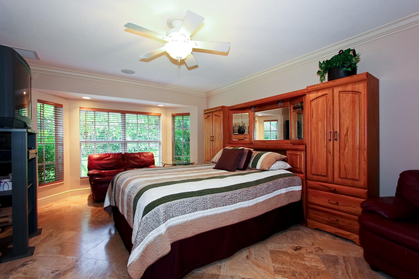 Real Estate Photography - 430 N. Lyra Circle, Juno Beach, FL, 33408 - Bedroom