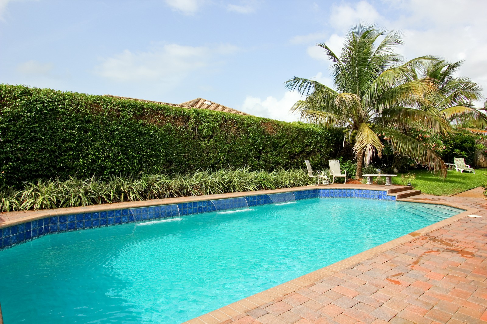 Real Estate Photography - 430 N. Lyra Circle, Juno Beach, FL, 33408 - Pool