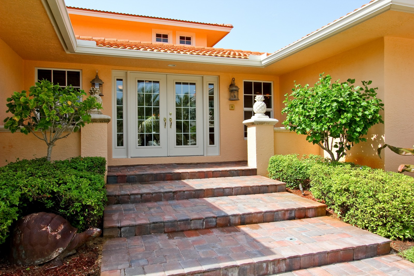 Real Estate Photography - 430 N. Lyra Circle, Juno Beach, FL, 33408 - Entryway