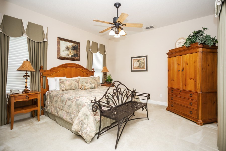 Real Estate Photography - 7528 Gathering Drive, reunion, FL, 34747 - Master Bedroom