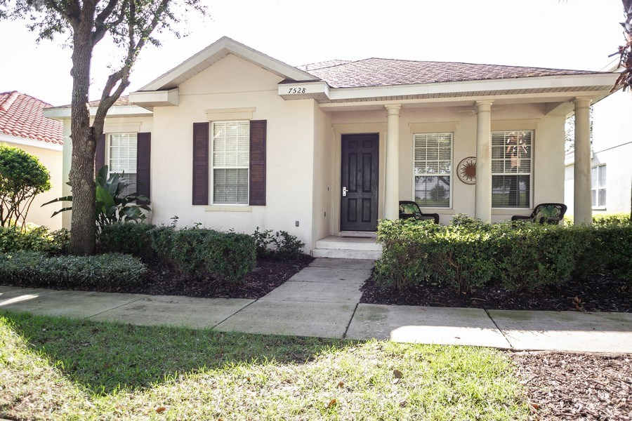 Real Estate Photography - 7528 Gathering Drive, reunion, FL, 34747 - Front View