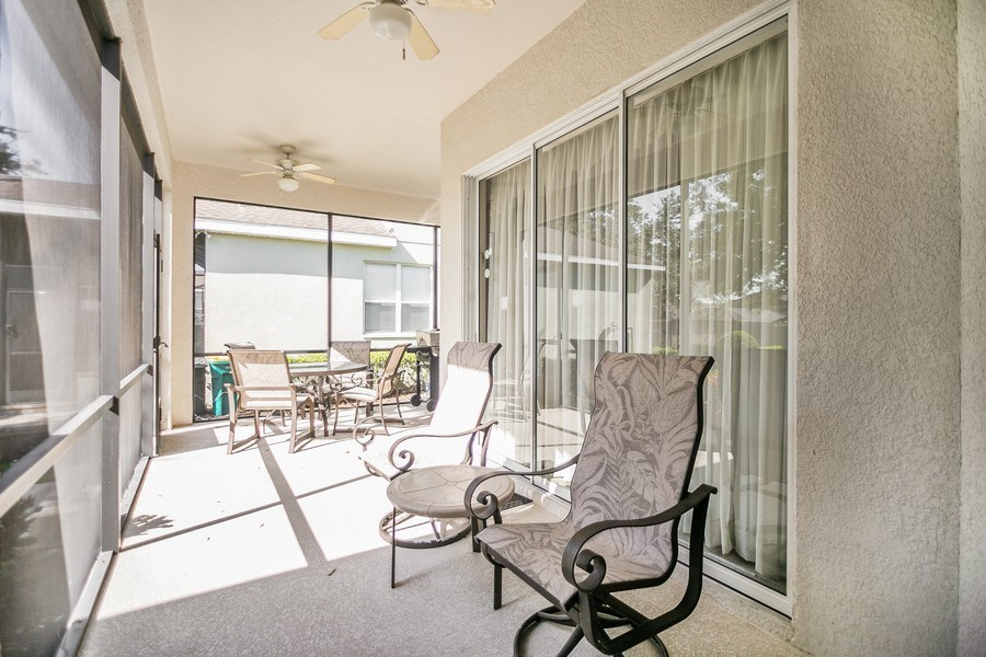 Real Estate Photography - 7528 Gathering Drive, reunion, FL, 34747 - Patio