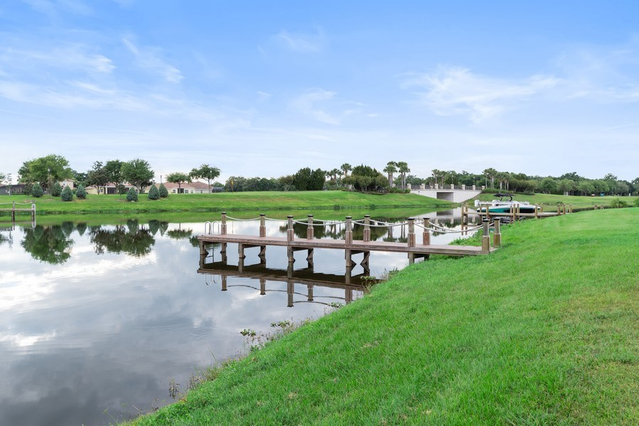 Real Estate Photography - 1141 Terralago Way, Kissimmee, FL, 34746 - Dock