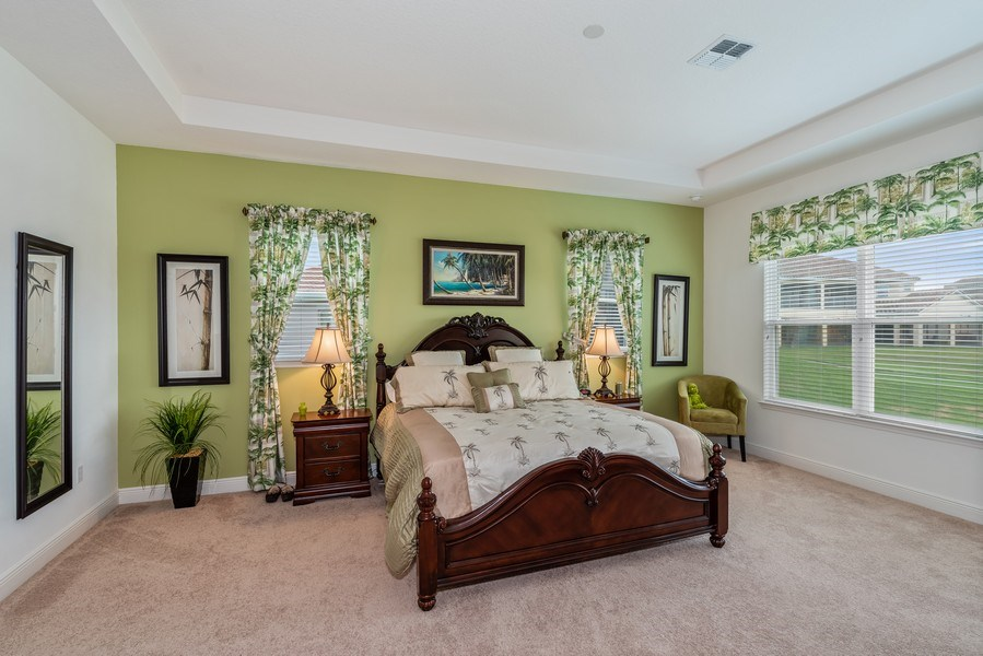 Real Estate Photography - 1141 Terralago Way, Kissimmee, FL, 34746 - Master Bedroom