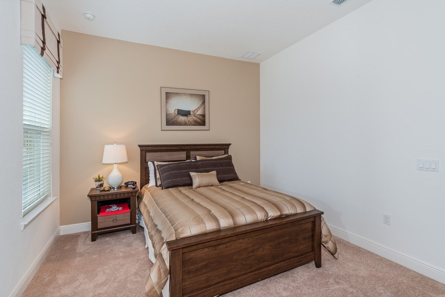 Real Estate Photography - 1141 Terralago Way, Kissimmee, FL, 34746 - 2nd Bedroom