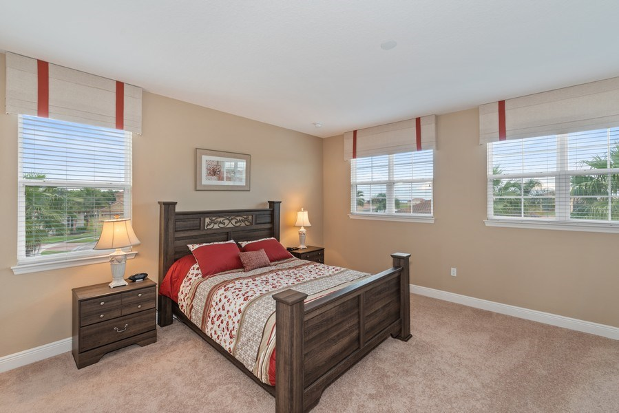 Real Estate Photography - 1141 Terralago Way, Kissimmee, FL, 34746 - 3rd Bedroom