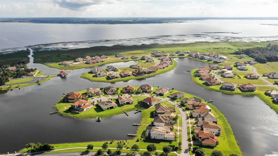 Real Estate Photography - 1141 Terralago Way, Kissimmee, FL, 34746 - Aerial View