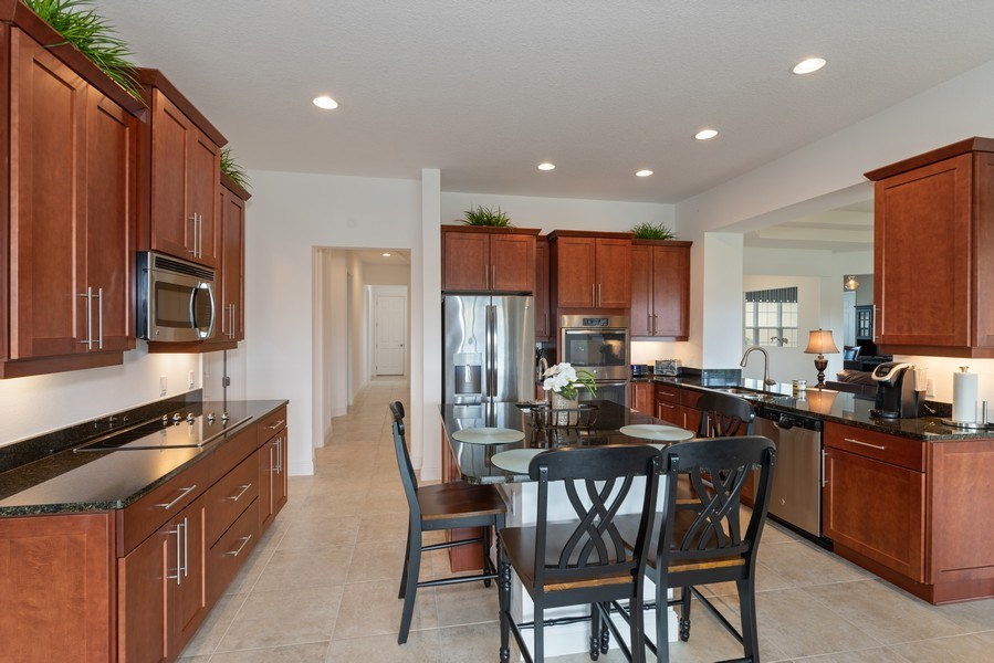 Real Estate Photography - 1141 Terralago Way, Kissimmee, FL, 34746 - Kitchen