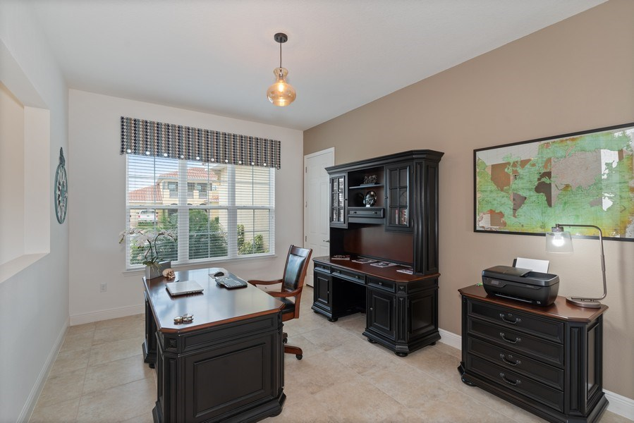 Real Estate Photography - 1141 Terralago Way, Kissimmee, FL, 34746 - Office