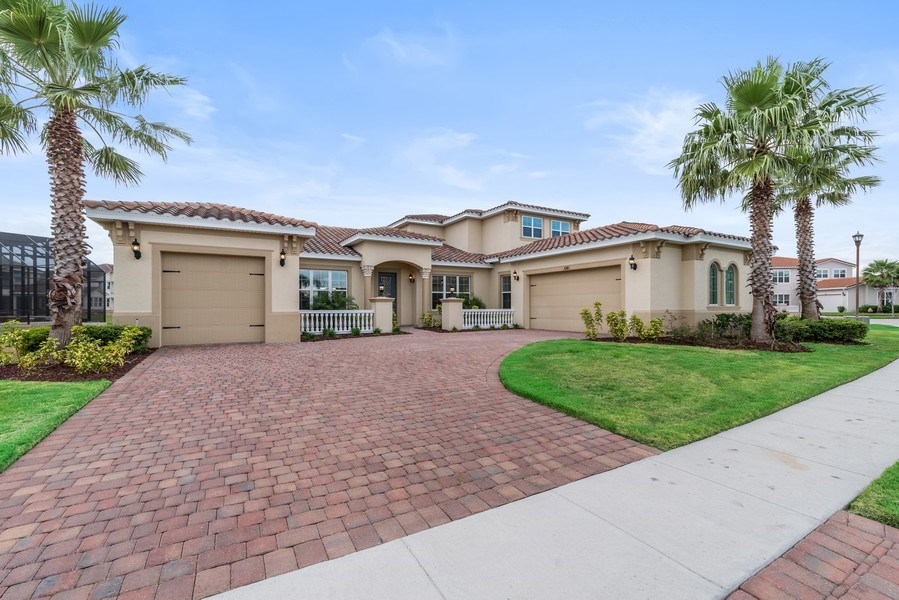 Real Estate Photography - 1141 Terralago Way, Kissimmee, FL, 34746 - Front View