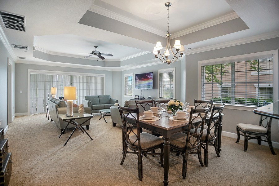 Real Estate Photography - 1364 Centre Court Ridge unit 104, Kissimmee, FL, 34747 - Dining Area 2