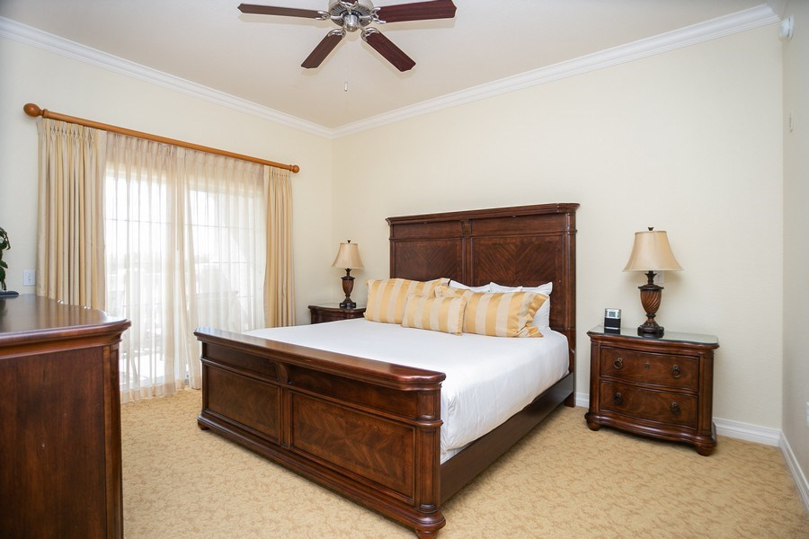 Real Estate Photography - 7601 Cabana Ct Unit 401, Reunion, FL, 34747 - Master Bedroom