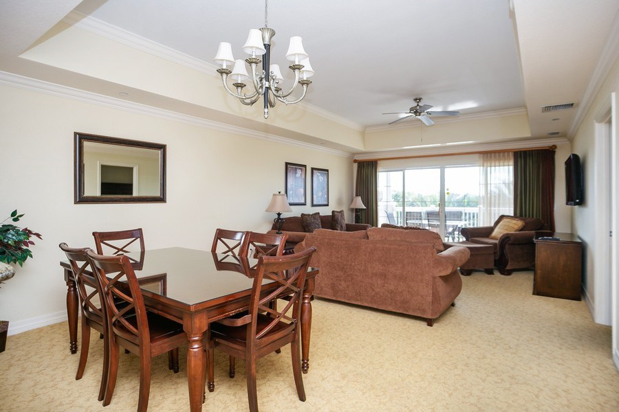 Real Estate Photography - 7601 Cabana Ct Unit 401, Reunion, FL, 34747 - Dining Area 2