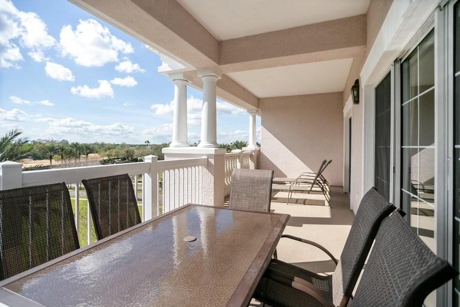 Real Estate Photography - 7601 Cabana Ct Unit 401, Reunion, FL, 34747 - Patio