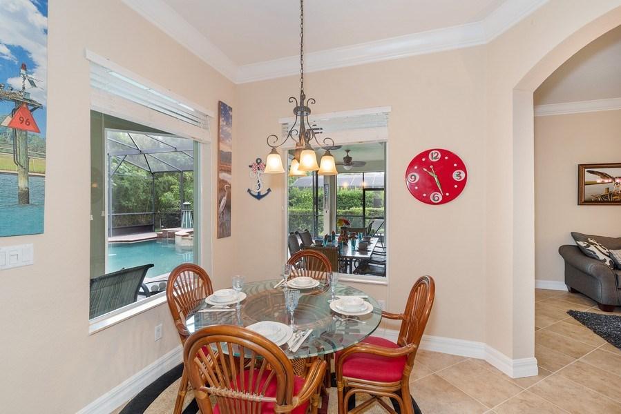 Real Estate Photography - 2047 Tillman Ave, Winter Garden, FL, 34787 - Breakfast Nook