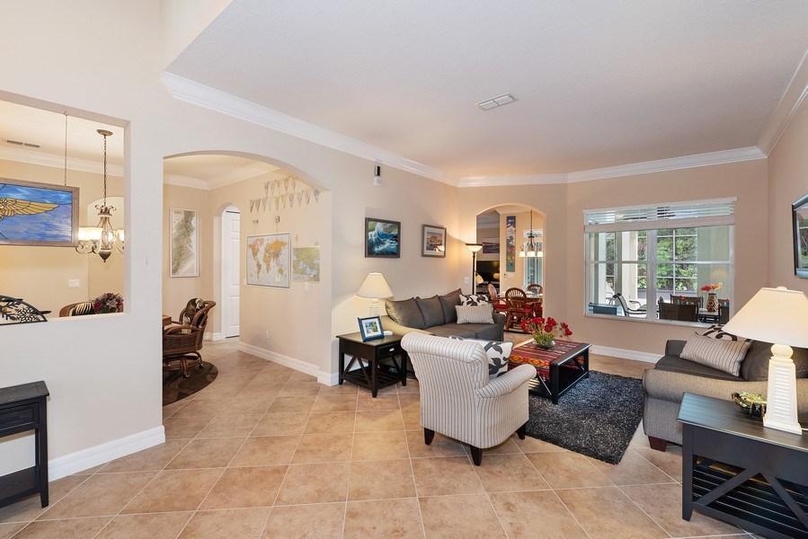 Real Estate Photography - 2047 Tillman Ave, Winter Garden, FL, 34787 - Living Room / Dining Room