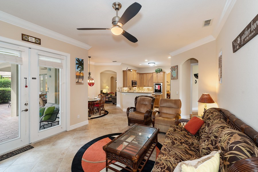 Real Estate Photography - 2047 Tillman Ave, Winter Garden, FL, 34787 - Family Room / Kitchen
