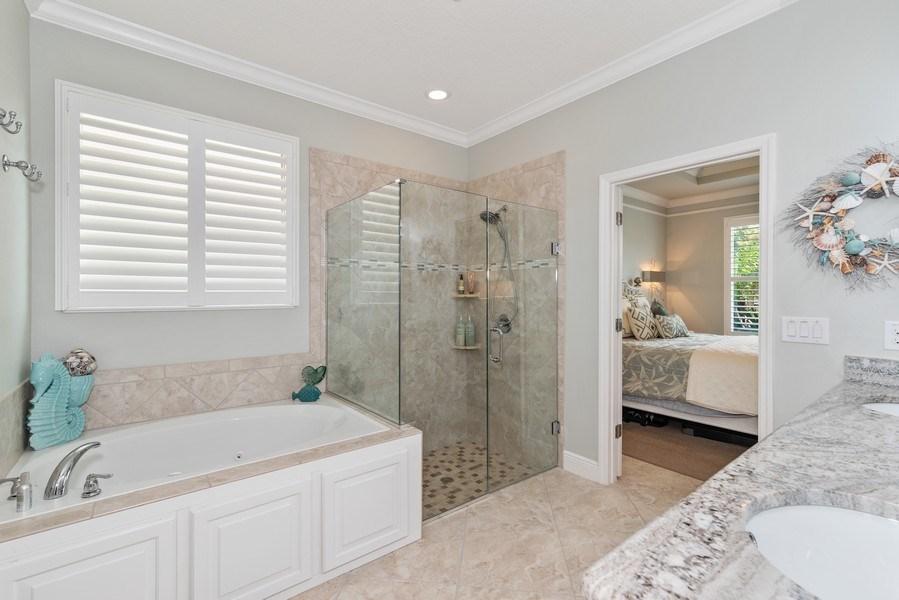 Real Estate Photography - 9046 Reflection Pointe Dr, Windermere, FL, 34786 - Master Bathroom