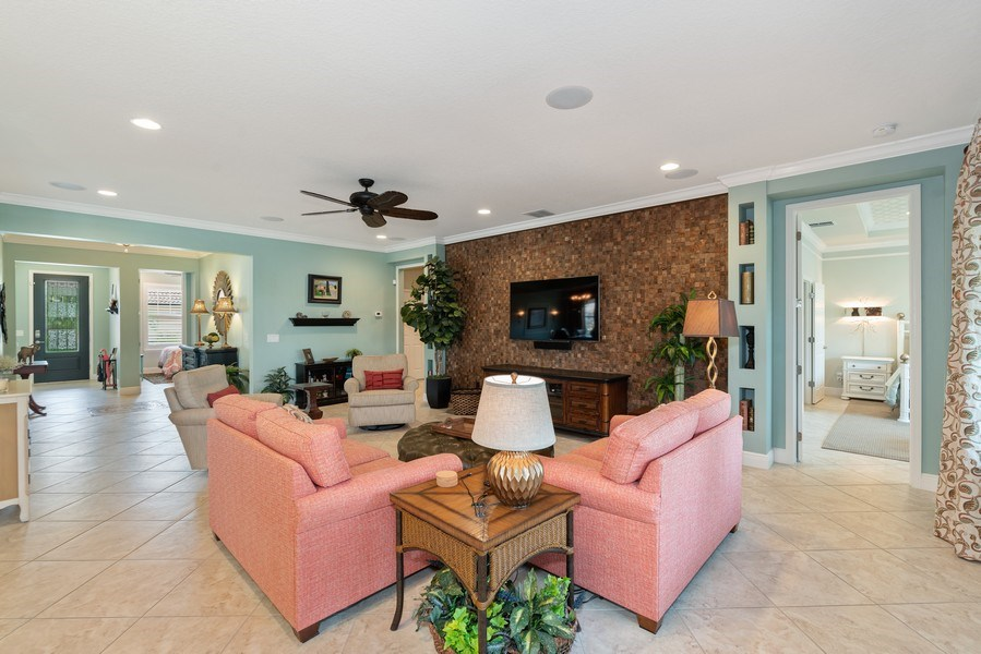 Real Estate Photography - 9046 Reflection Pointe Dr, Windermere, FL, 34786 - Family Room
