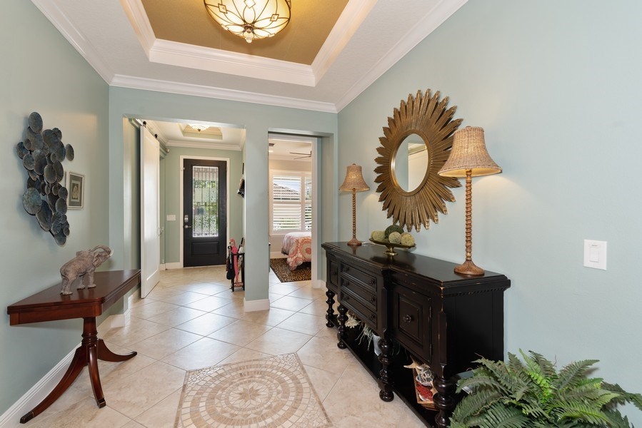 Real Estate Photography - 9046 Reflection Pointe Dr, Windermere, FL, 34786 - Foyer