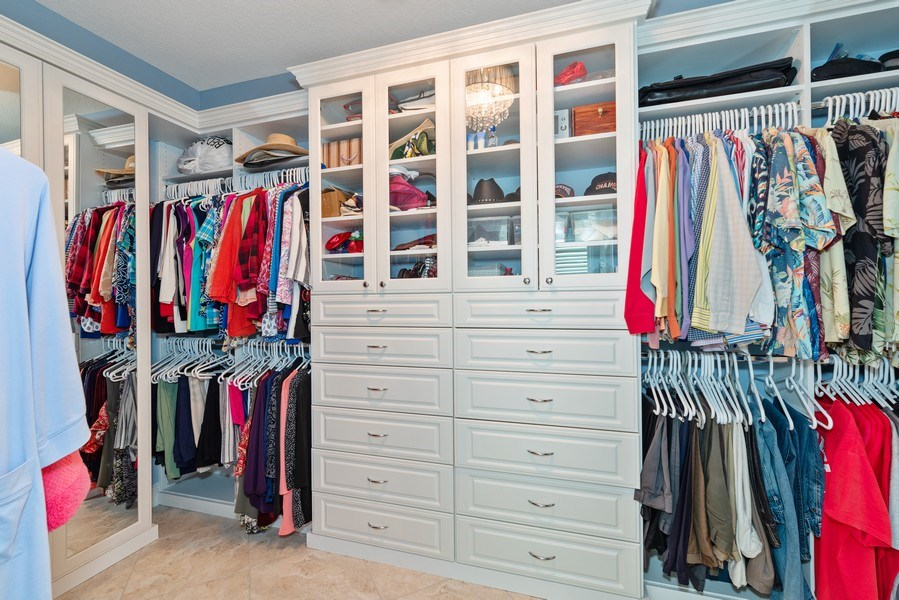 Real Estate Photography - 9046 Reflection Pointe Dr, Windermere, FL, 34786 - Master Bedroom Closet