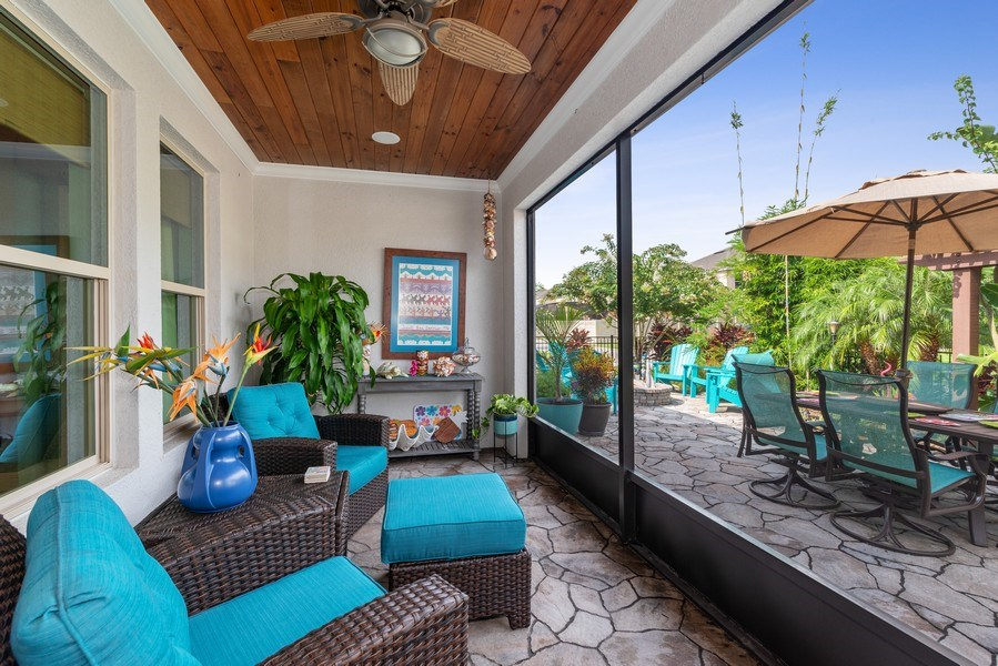 Real Estate Photography - 9046 Reflection Pointe Dr, Windermere, FL, 34786 - Porch