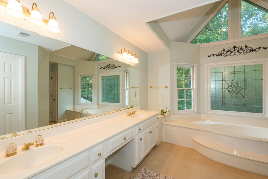 Real Estate Photography - 304 W Country Drive, Johns Creek, GA, 30097 - Master Bathroom