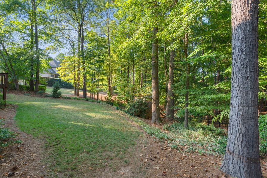 Real Estate Photography - 304 W Country Drive, Johns Creek, GA, 30097 - Back Yard