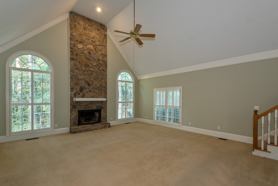 Real Estate Photography - 304 W Country Drive, Johns Creek, GA, 30097 - Family Room