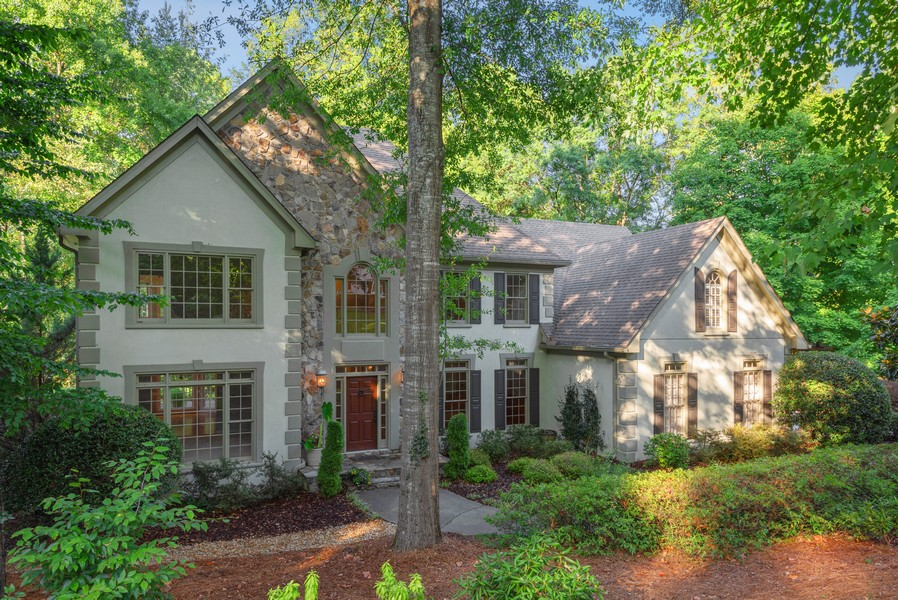 Real Estate Photography - 304 W Country Drive, Johns Creek, GA, 30097 - Front View