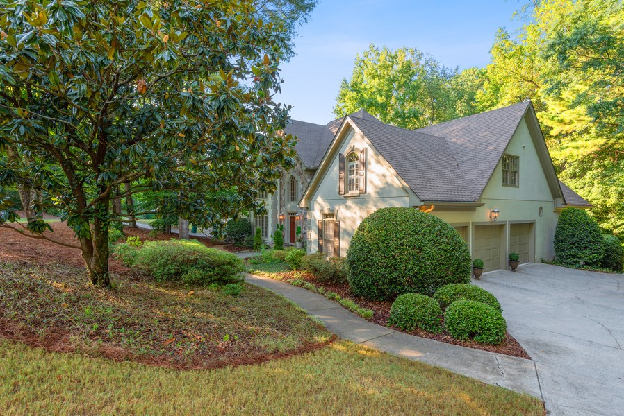 Real Estate Photography - 304 W Country Drive, Johns Creek, GA, 30097 - Side View