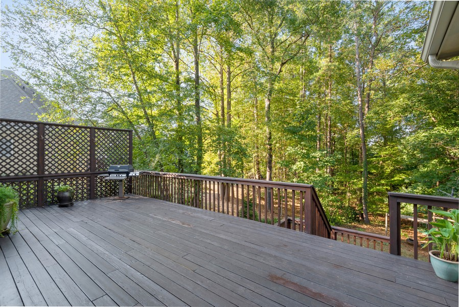 Real Estate Photography - 304 W Country Drive, Johns Creek, GA, 30097 - Deck