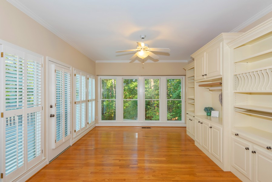 Real Estate Photography - 304 W Country Drive, Johns Creek, GA, 30097 - Sun Room