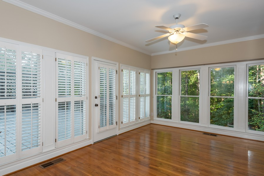 Real Estate Photography - 304 W Country Drive, Johns Creek, GA, 30097 - Sunroom