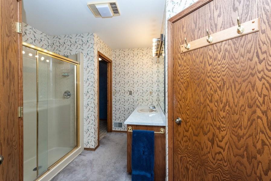Real Estate Photography - 3815 Michigan Avenue, Manitowoc, WI, 54220 - Master Bathroom